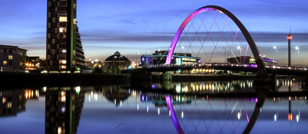 City of Glasgow is the Biggest of All Scottish Cities