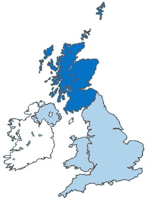 Map for Scotland Information Directory