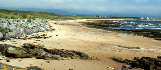 Dornoch​​​ is located in the Highland region of Scotland, United Kingdom.